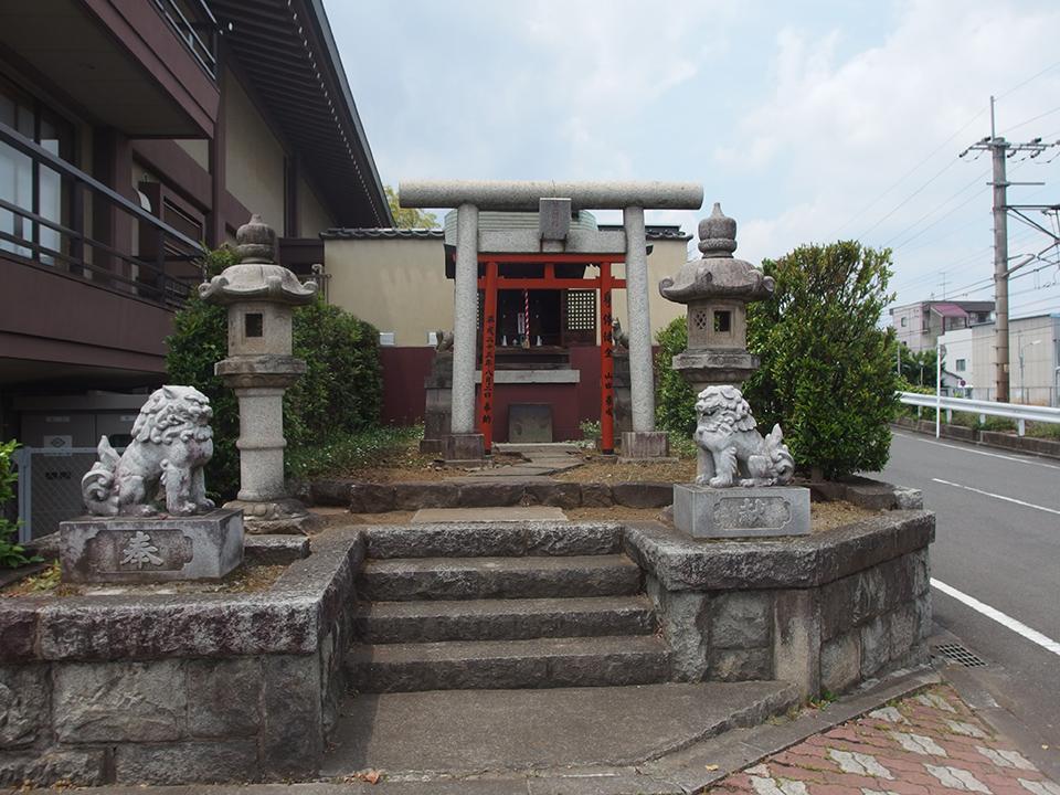 笠間稲荷(八王子市上野町)