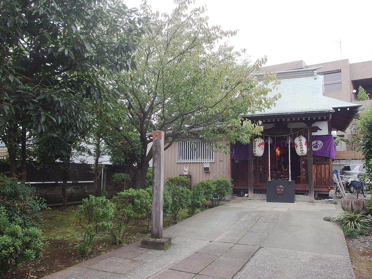 桜森稲荷神社(目黒区)写真
