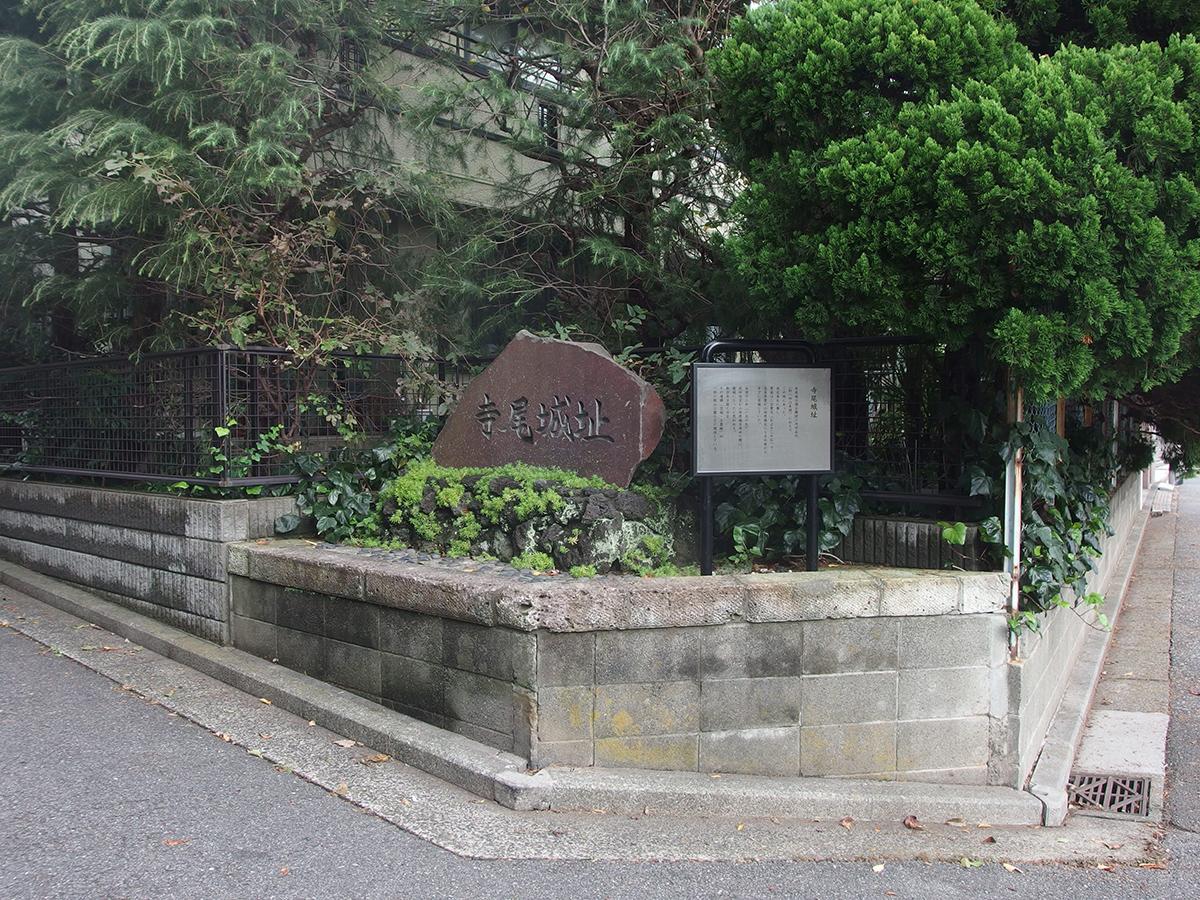 寺尾城跡写真