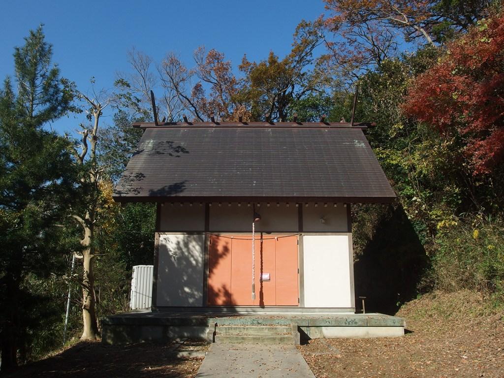 下谷戸神明社(横浜市鶴見区獅子ケ谷)