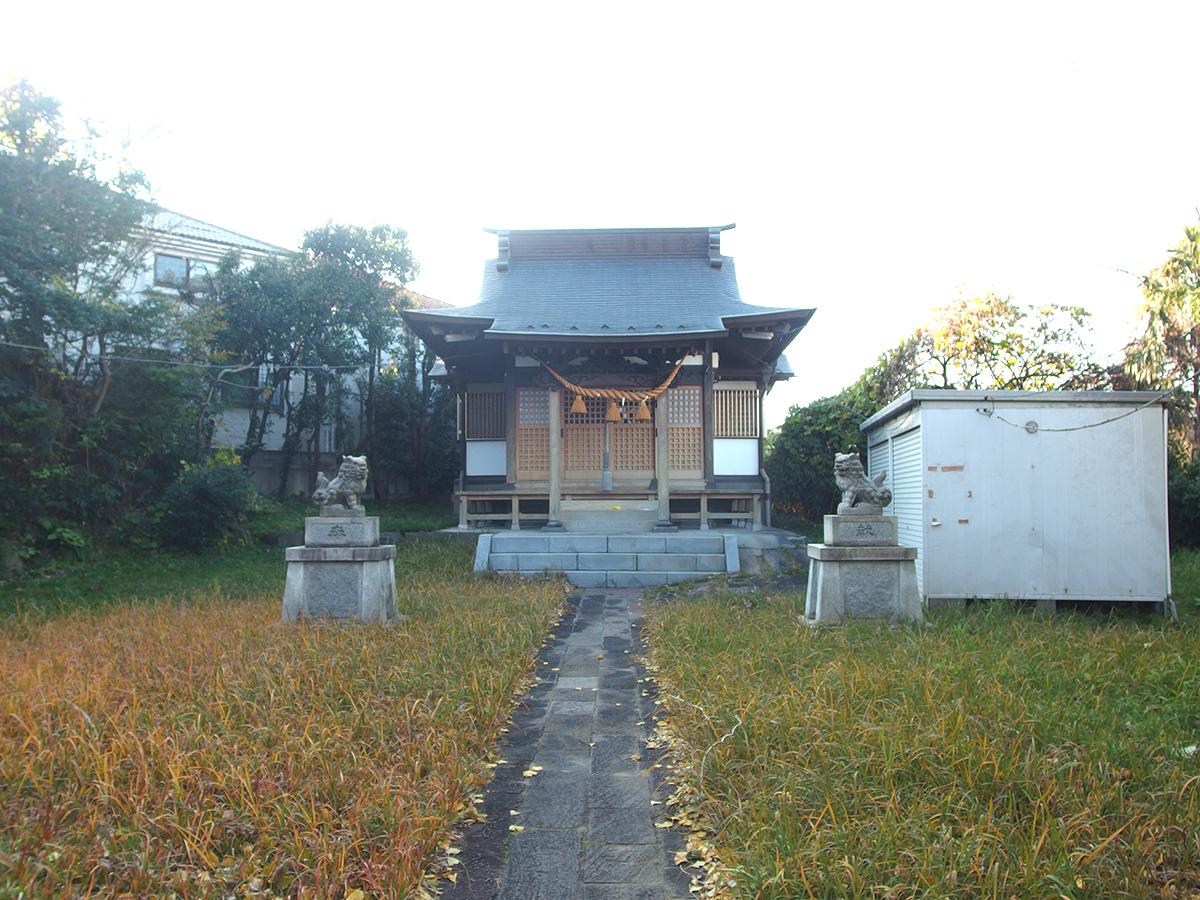 大曽根八幡神社(横浜市)写真
