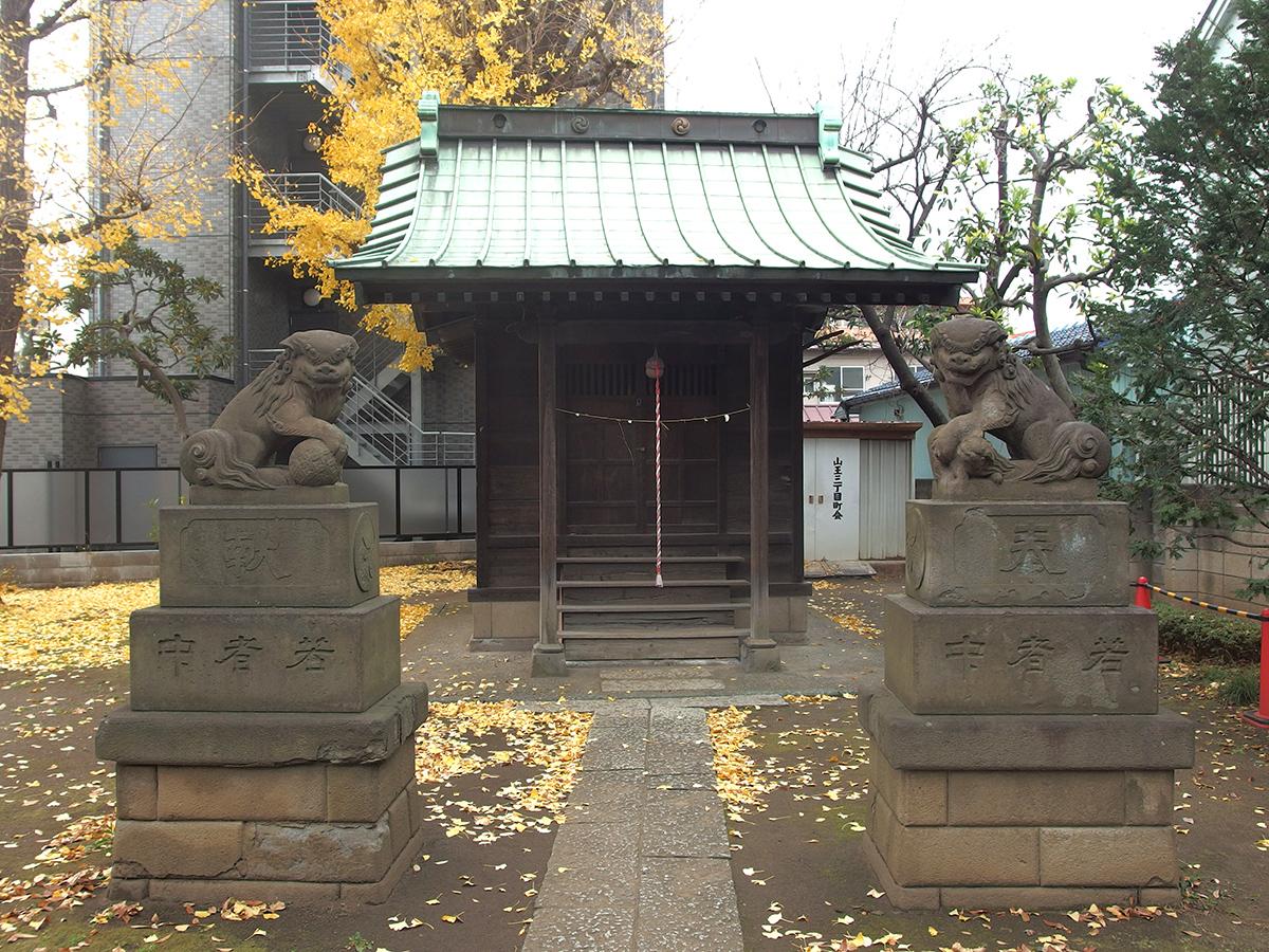根ケ原神社写真