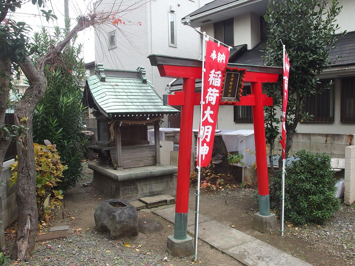長田稲荷神社(大田区)写真
