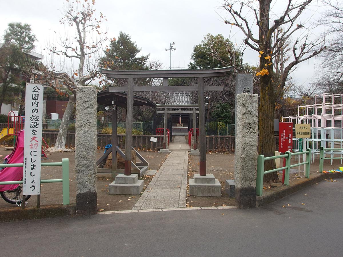 山王厳島神社写真