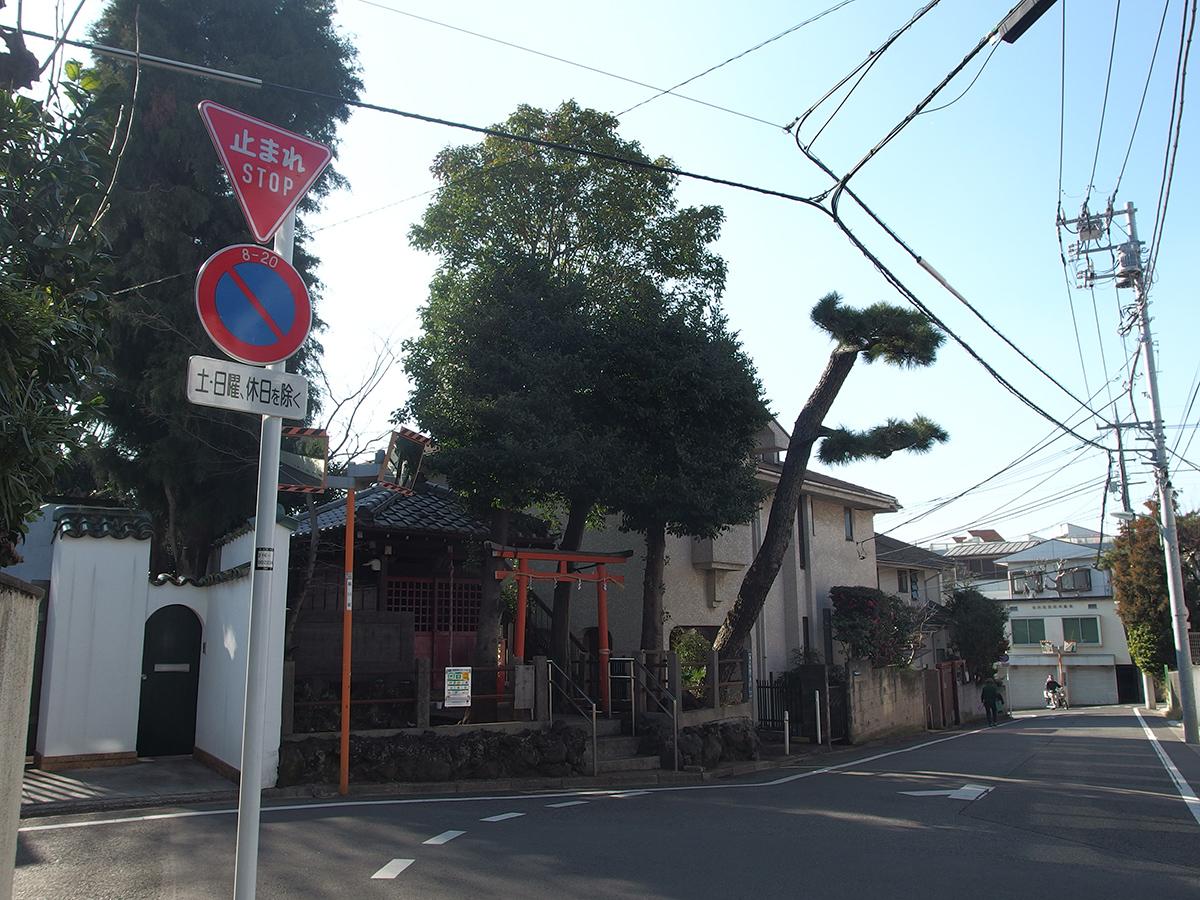 金子山稲荷神社写真