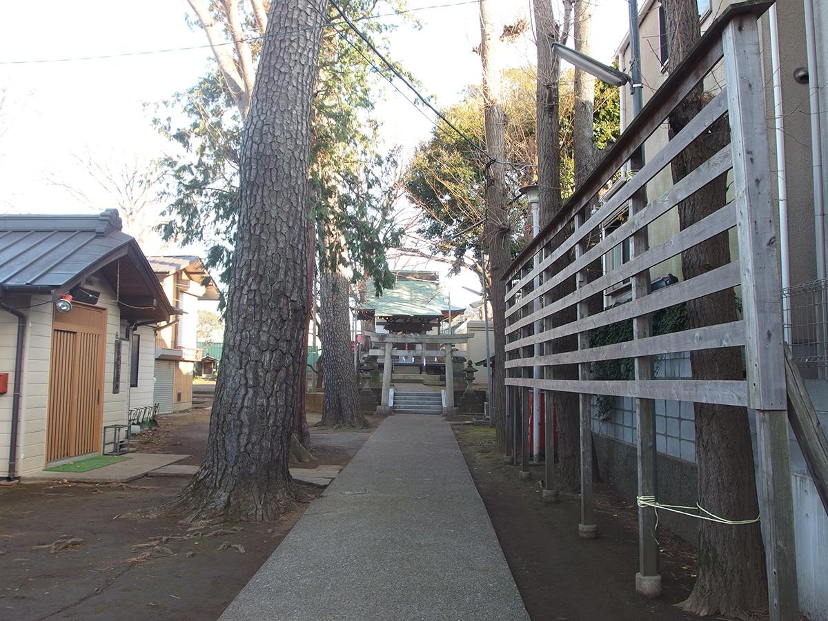 北野神社(大田区南馬込)写真
