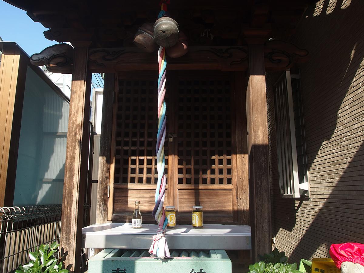 杉森稲荷神社(品川区西大井)写真