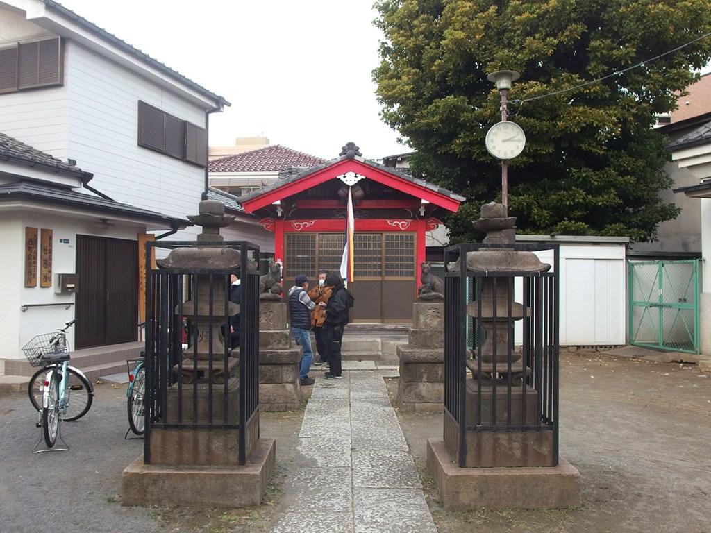 東貫森稲荷神社(大田区大森北)