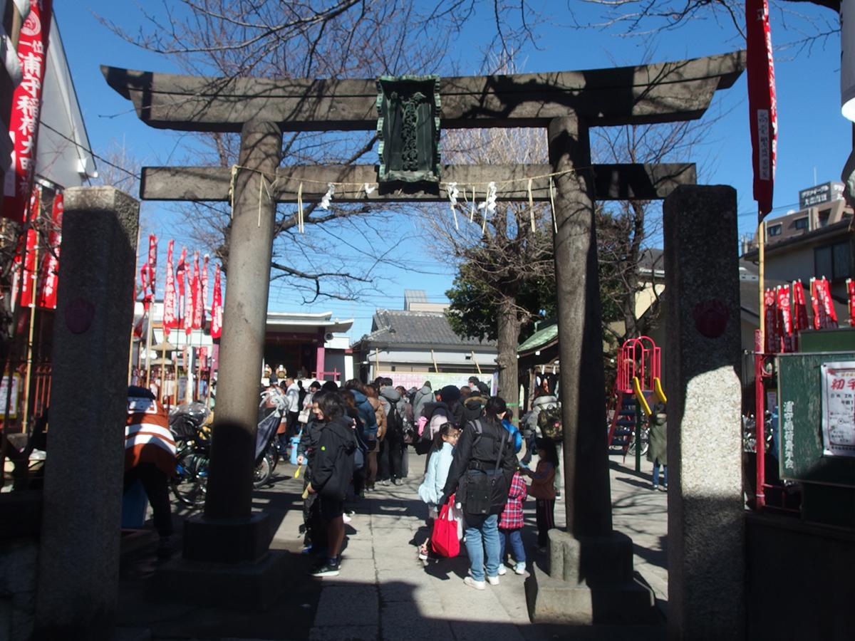 浦守稲荷神社写真