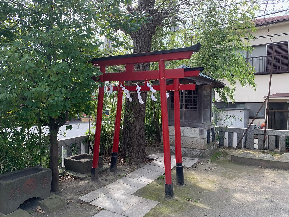 八幡大神(川崎市中原区上平間)写真
