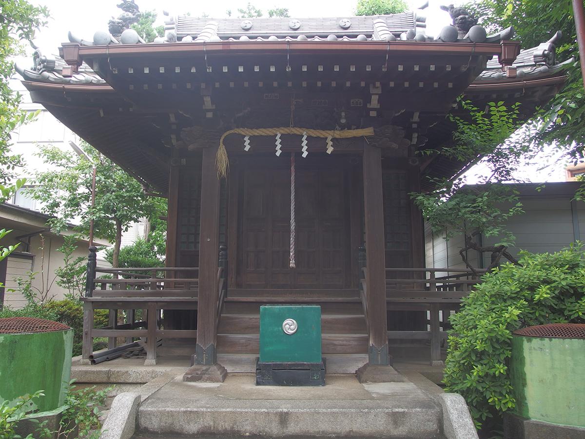雑色八幡神社写真