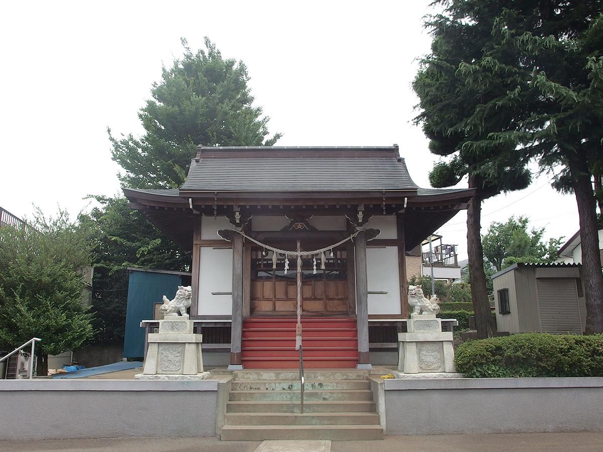 寺山町杉山神社写真