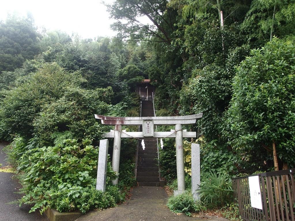 御嶽山神社(川崎市高津区野川)