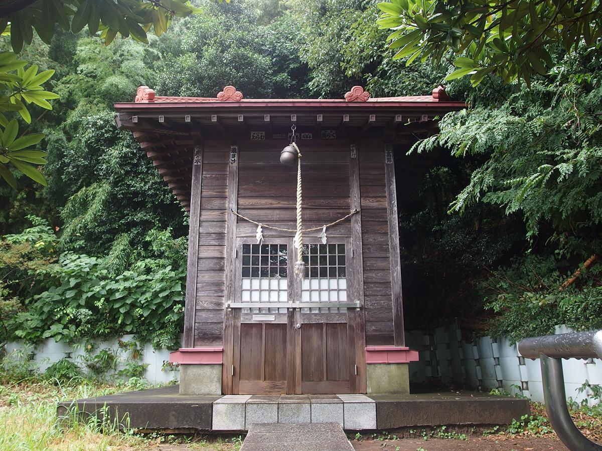 御嶽山神社(川崎市高津区野川)写真