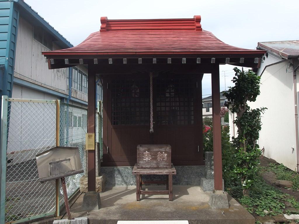 秋葉神社(町田市南町田)