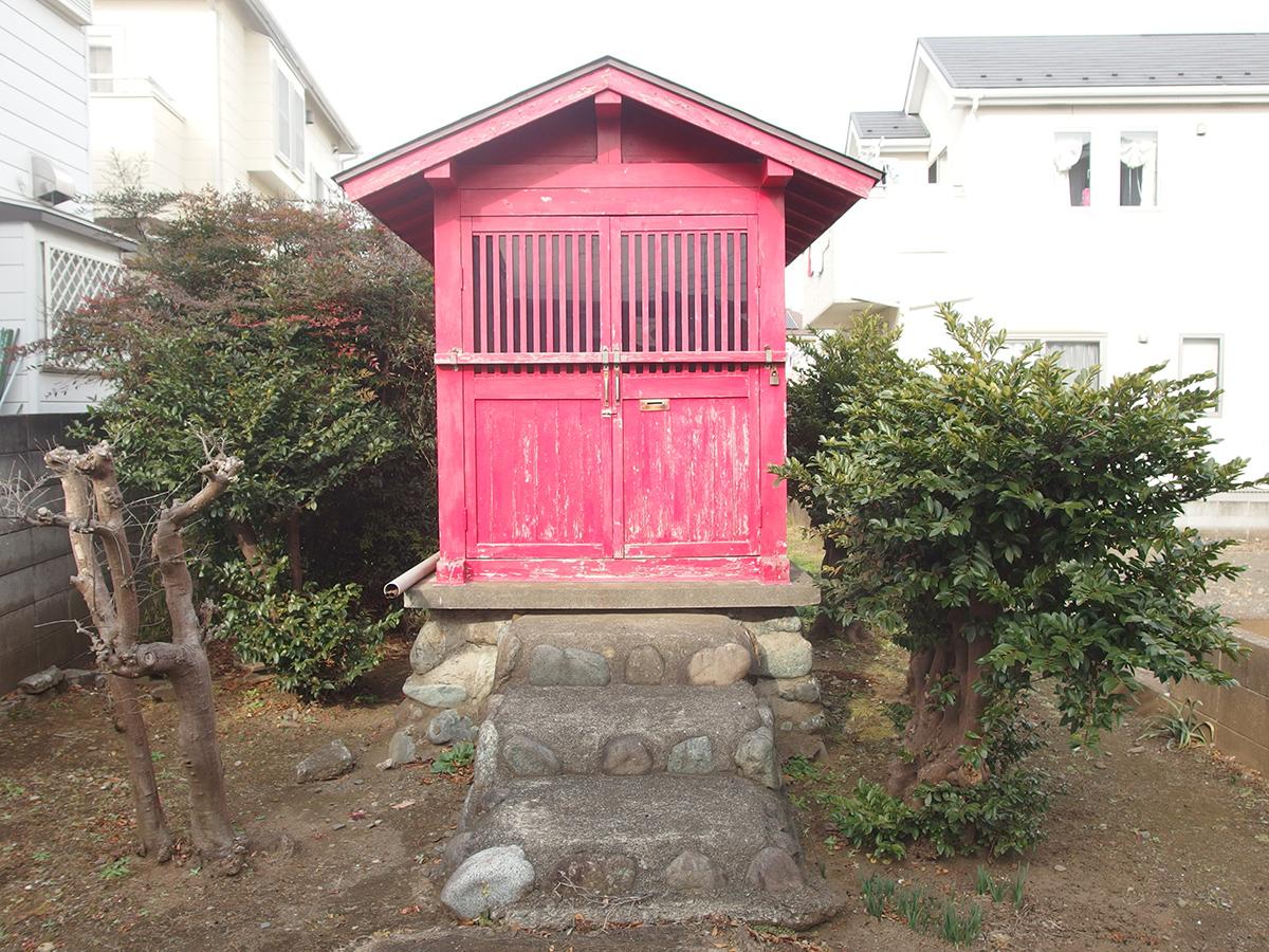 下田稲荷神社(町田市高ヶ坂)写真
