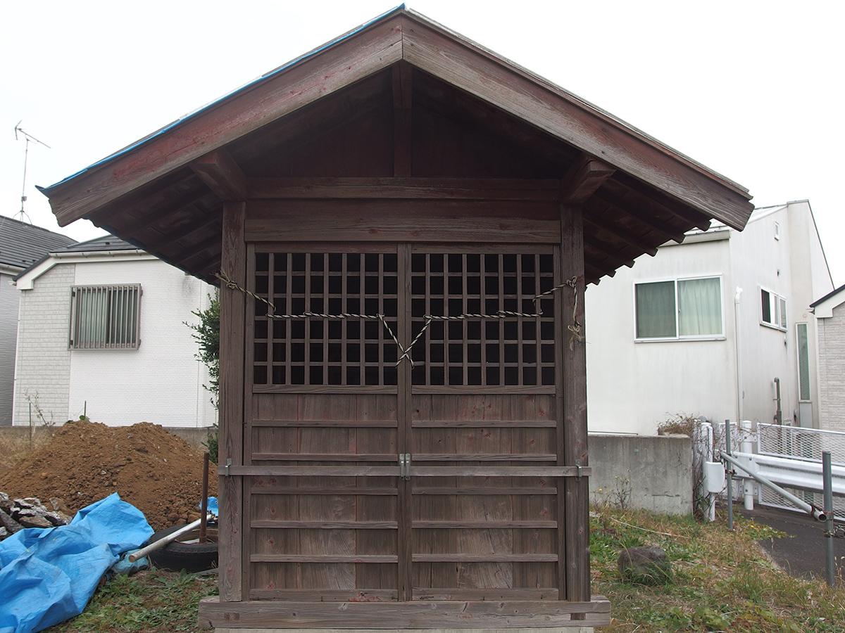 稲荷神社(横浜市青葉区松風台)写真