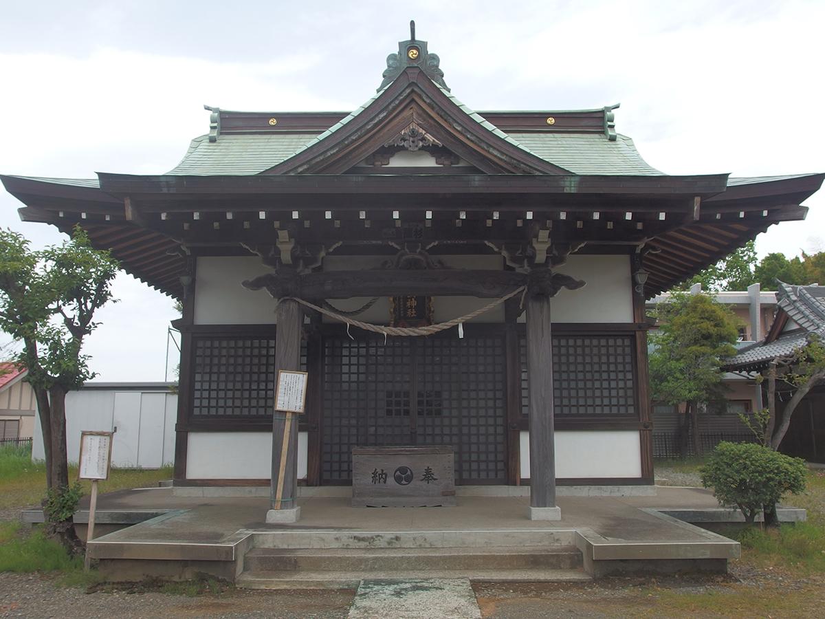 みたけ台杉山神社写真