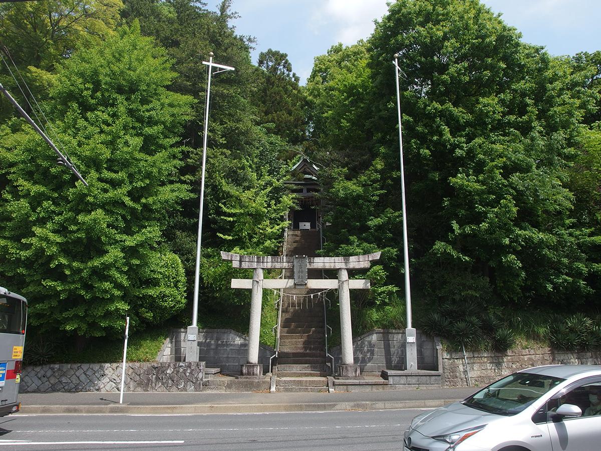 住吉神社(横浜市青葉区奈良町)写真
