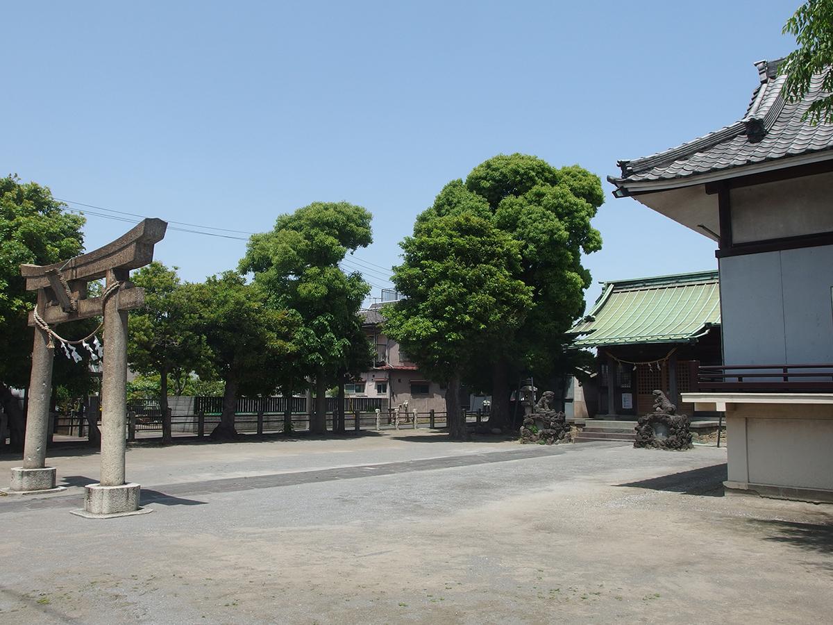 水神社(川崎市川崎区殿町)写真