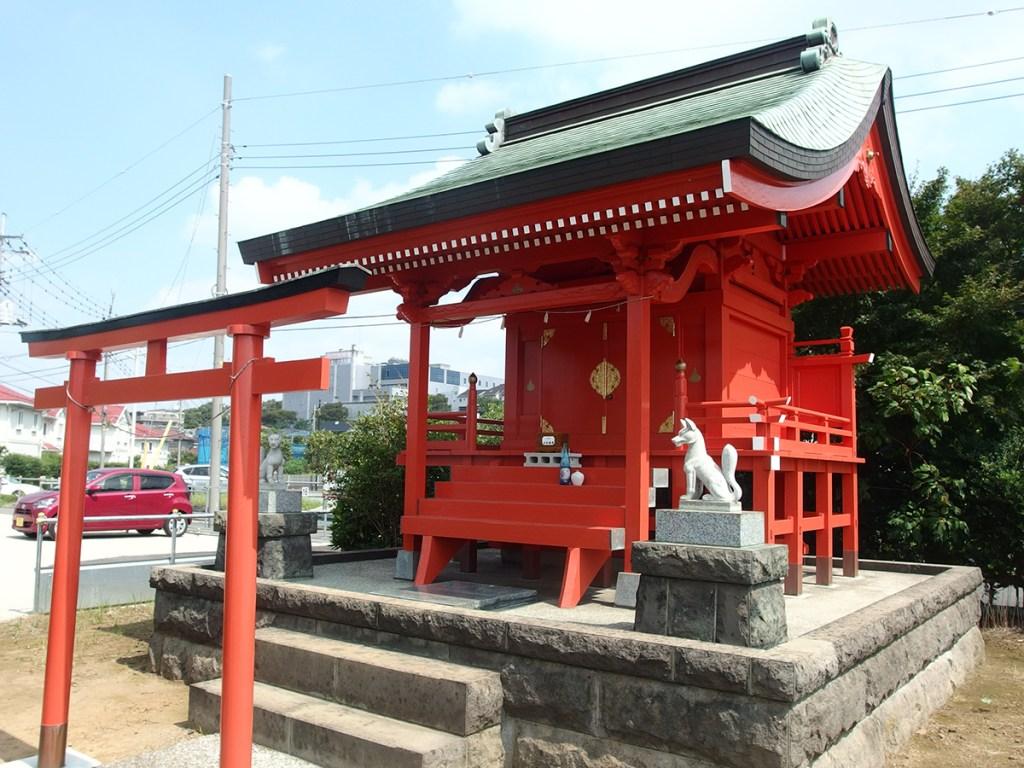 中川稲荷神社(県横浜市都筑区中川)