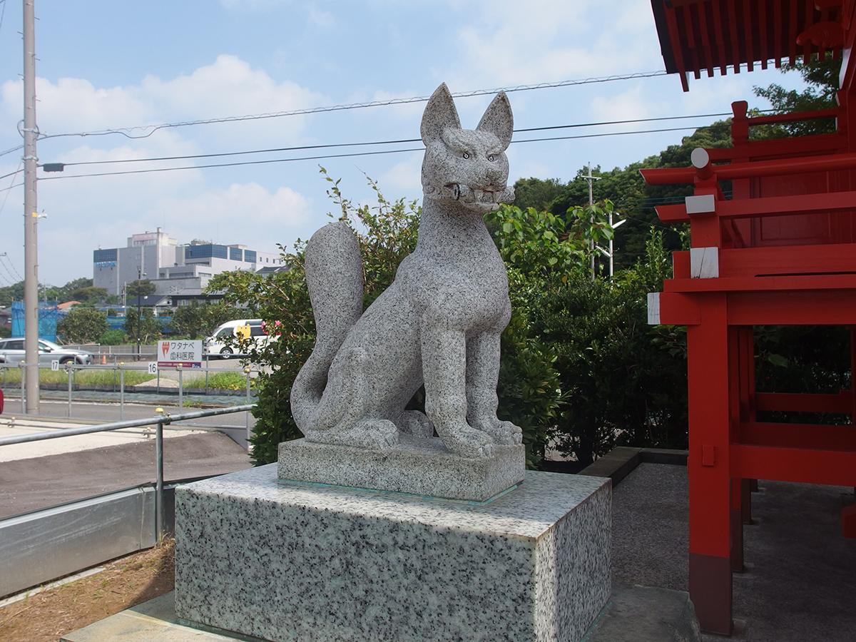 中川稲荷神社(県横浜市都筑区中川)写真