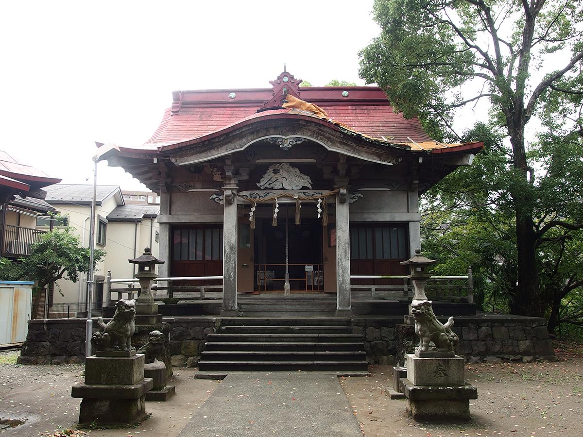 青木神社(横浜市港南区大久保)写真