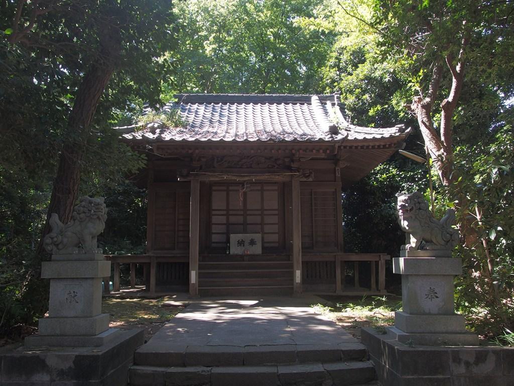 上中里神社(横浜市磯子区上中里町)