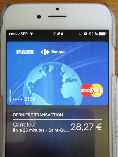 Lancement d Apple Pay en France  simple annonce ou date cl     pour le     Paiement sans contact Carrefour Pass sur Apple Pay