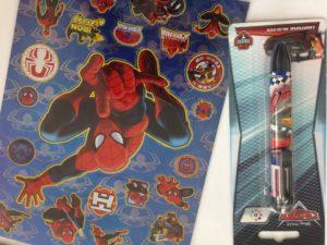 Spiderman action shoplog