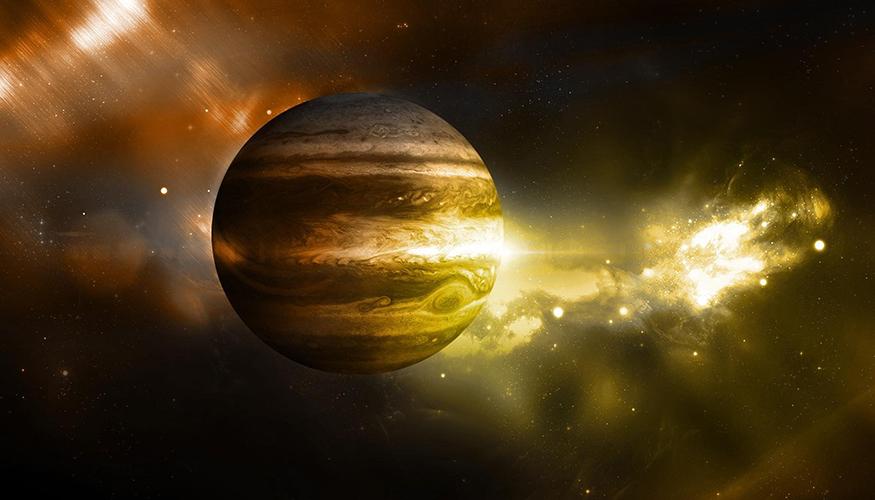 Jupiter l'histoire de notre système solaire.