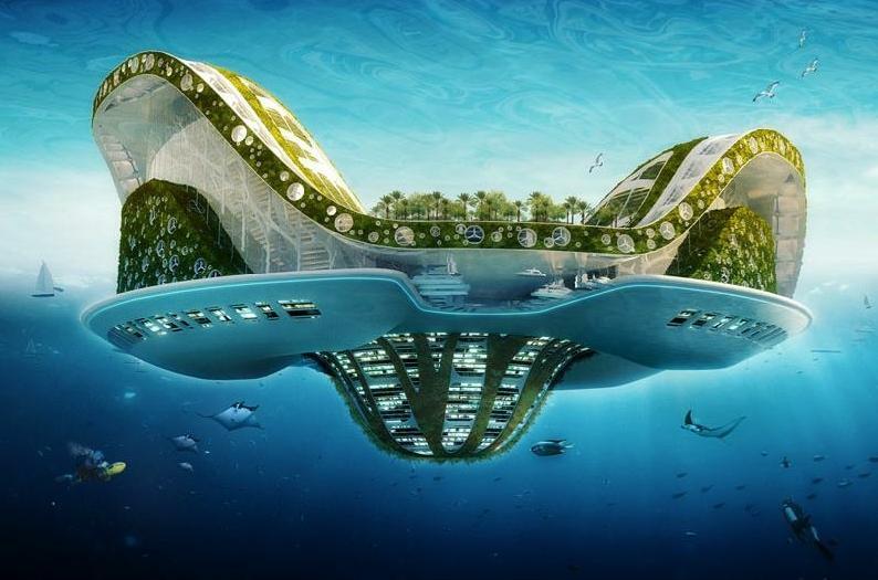 Lilypad de Vincent Callebaut, une cité flottante mobile