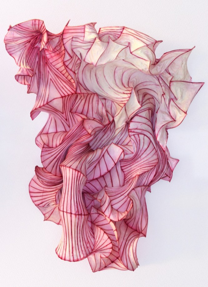 The dreamlike paper sculptures of Peter Gentenaar on sansible.fr #ScupltureArt #PaperArt #ArtDesign #SculptureInstallation #BeautifulArt #ContemporaryArt #PeterGentenaar #sansible