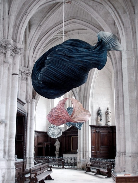 The dreamlike paper sculptures of Peter Gentenaar on sansible.fr #ScupltureArt #PaperArt #ArtDesign #SculptureInstallation #BeautifulArt #ContemporaryArt #PeterGentenaar #sansible
