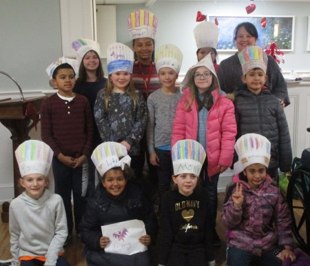 Read a Recipe for Literacy group