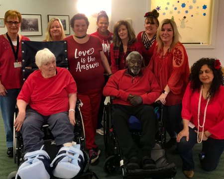 Wear Red Day for Women's Heart Health Awareness