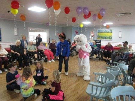 Easter Bunny at San Simeon