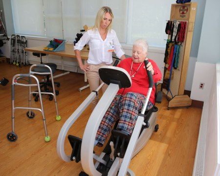 San Simeon physical rehab program