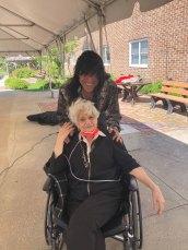 female San Simeon resident with singer