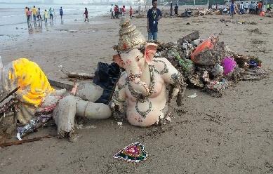Juhu Beach swachh bharat abhiyan