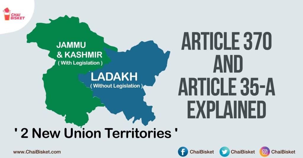 Kashmir 370 Articles 35 A