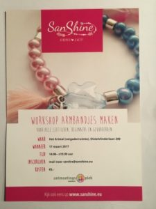 Workshop sieraden maken happy moments