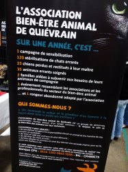 Missionsassociation Bien-être animal Quiévrain