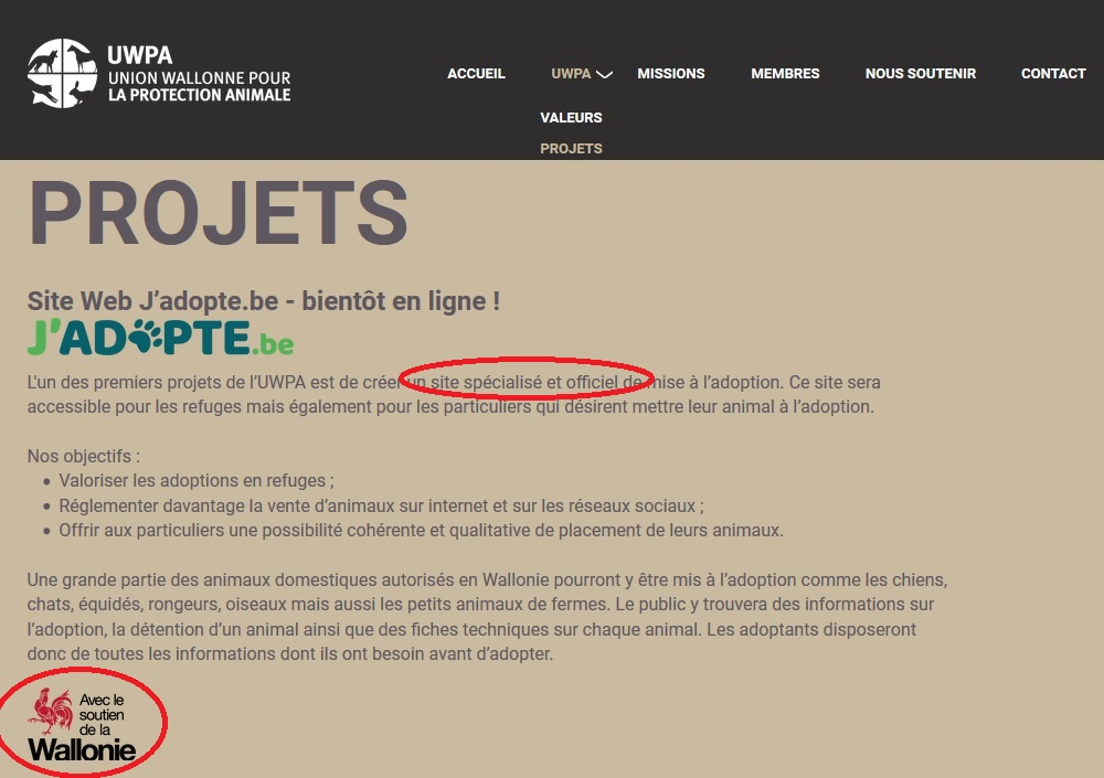 site jadopte.be2