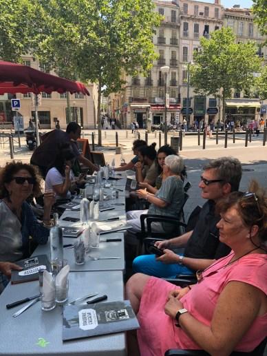 rapas convivial des sans pagEs à Marseille 2018