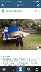 John Brown's 41kg Mulloway