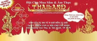 Hội chợ mua sắm và ẩm thực Thái Lan Tân Bình 2019