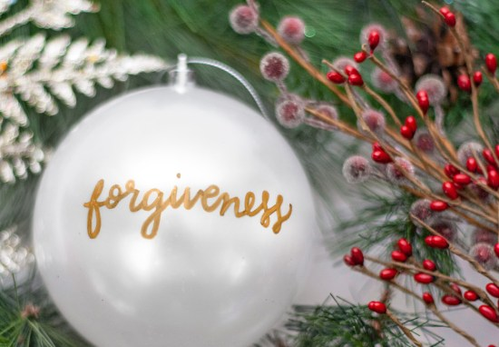 December 11 – Forgiveness