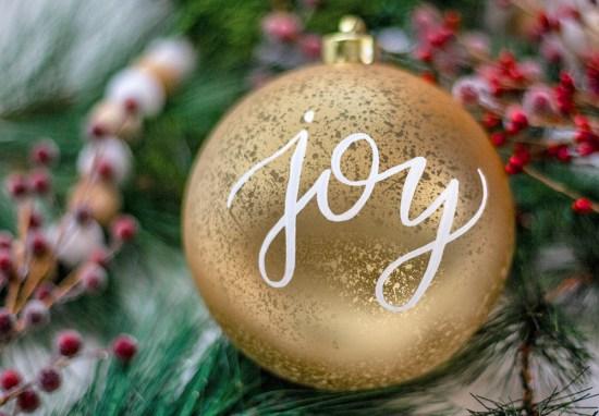 December 16 – Joy