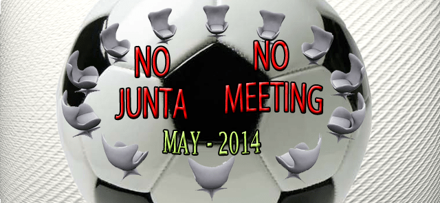 No Meeting May 2014